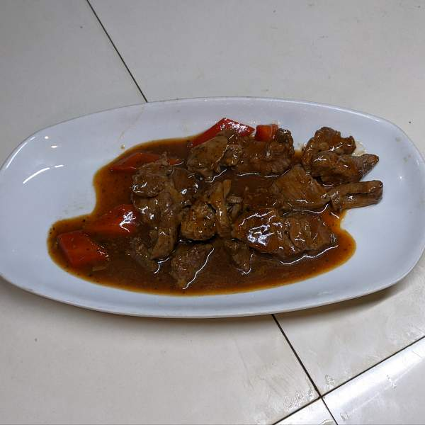 Beef and Blackpepper Sauce